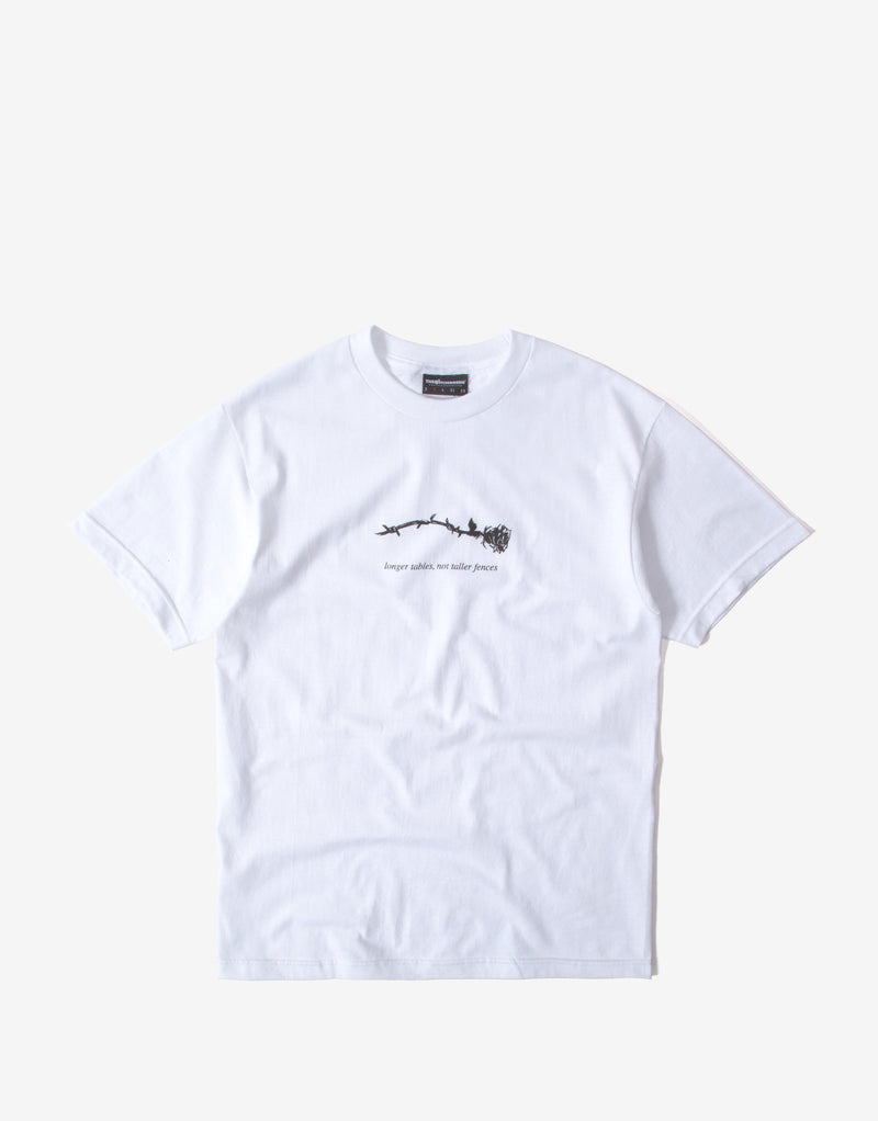 The Hundreds Longer Tables T Shirt - White
