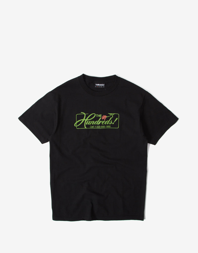 The Hundreds Over T Shirt - Black