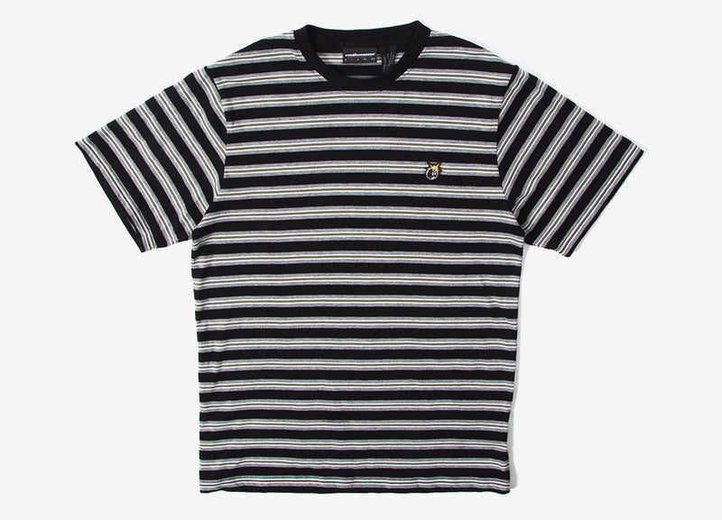 The Hundreds Page T Shirt - Black