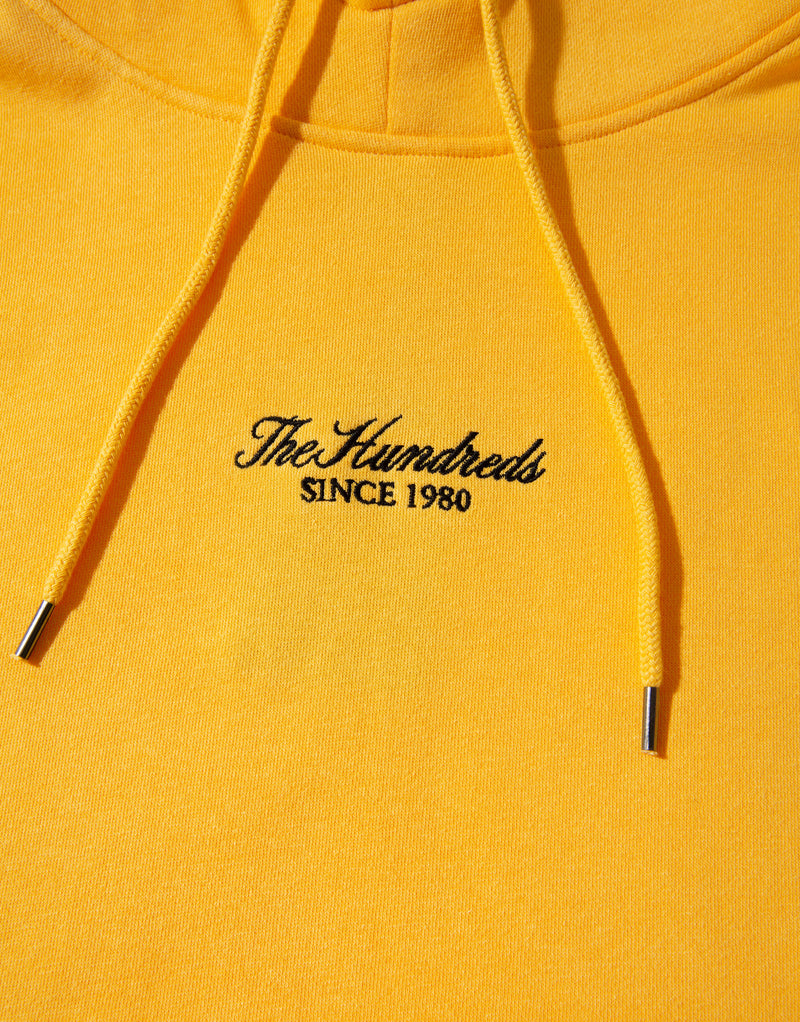 The Hundreds Peak Pullover Hoody - Yellow