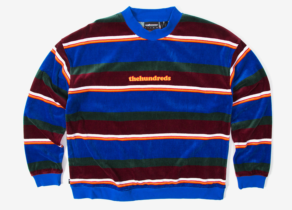 The Hundreds Peck Crewneck - Blue