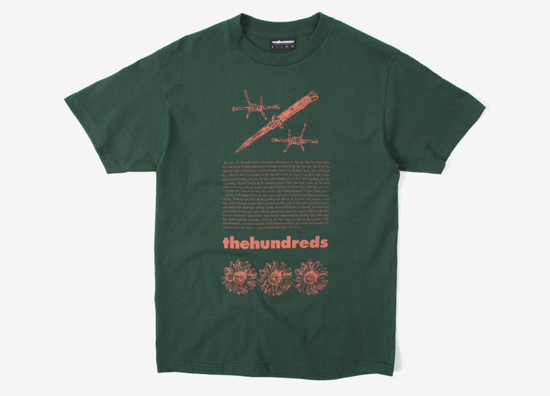 The Hundreds Poison T Shirt - Forest