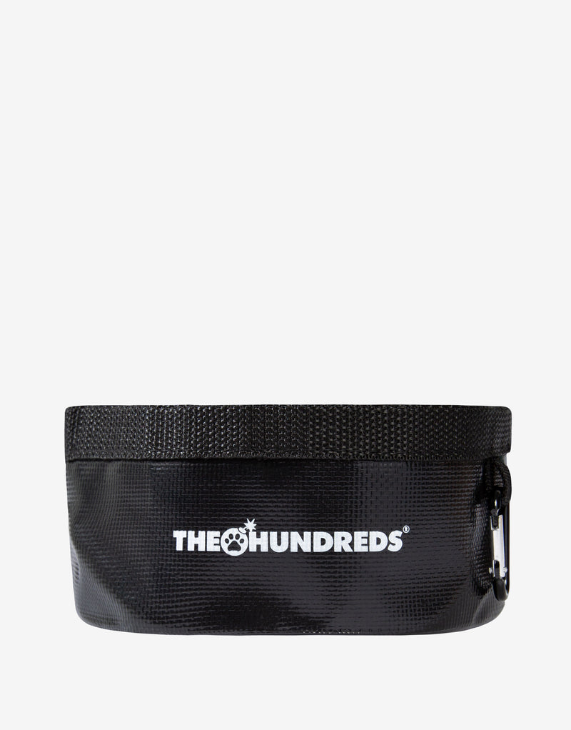The Hundreds Portable Dog Bowl - Black