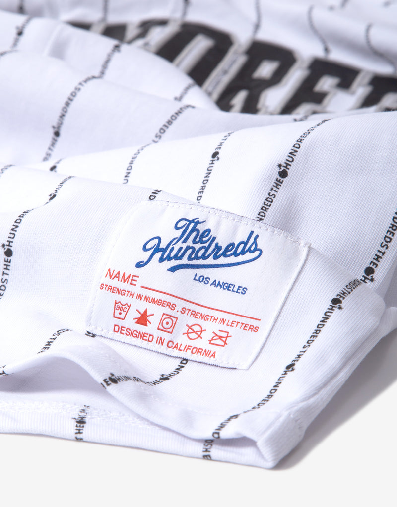 The Hundreds Ravine Baseball Jersey - White