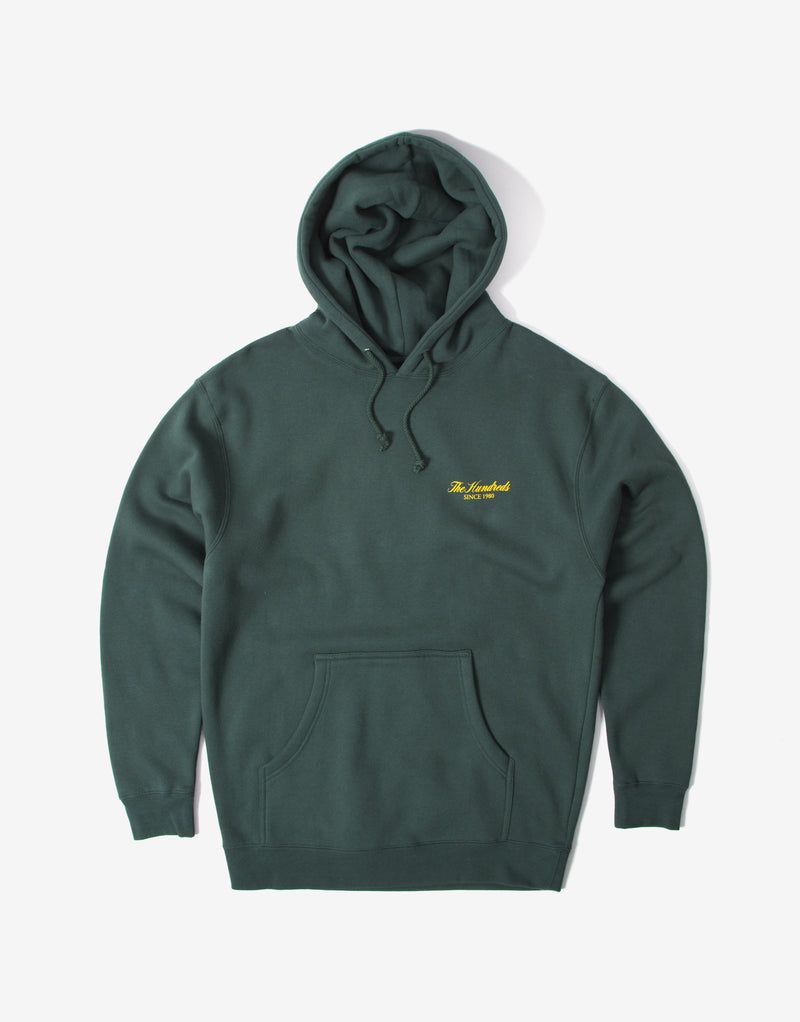 The Hundreds Rich Crest Hoody - Alpine Green