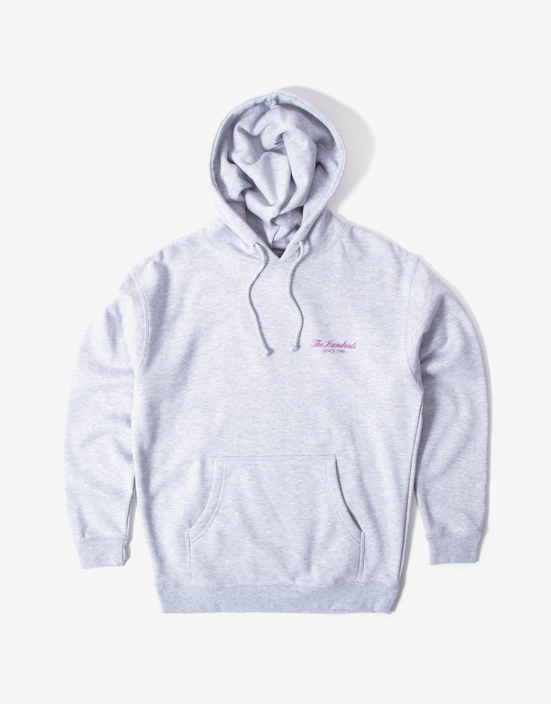 The Hundreds Rich Crest Hoody - Grey Heather