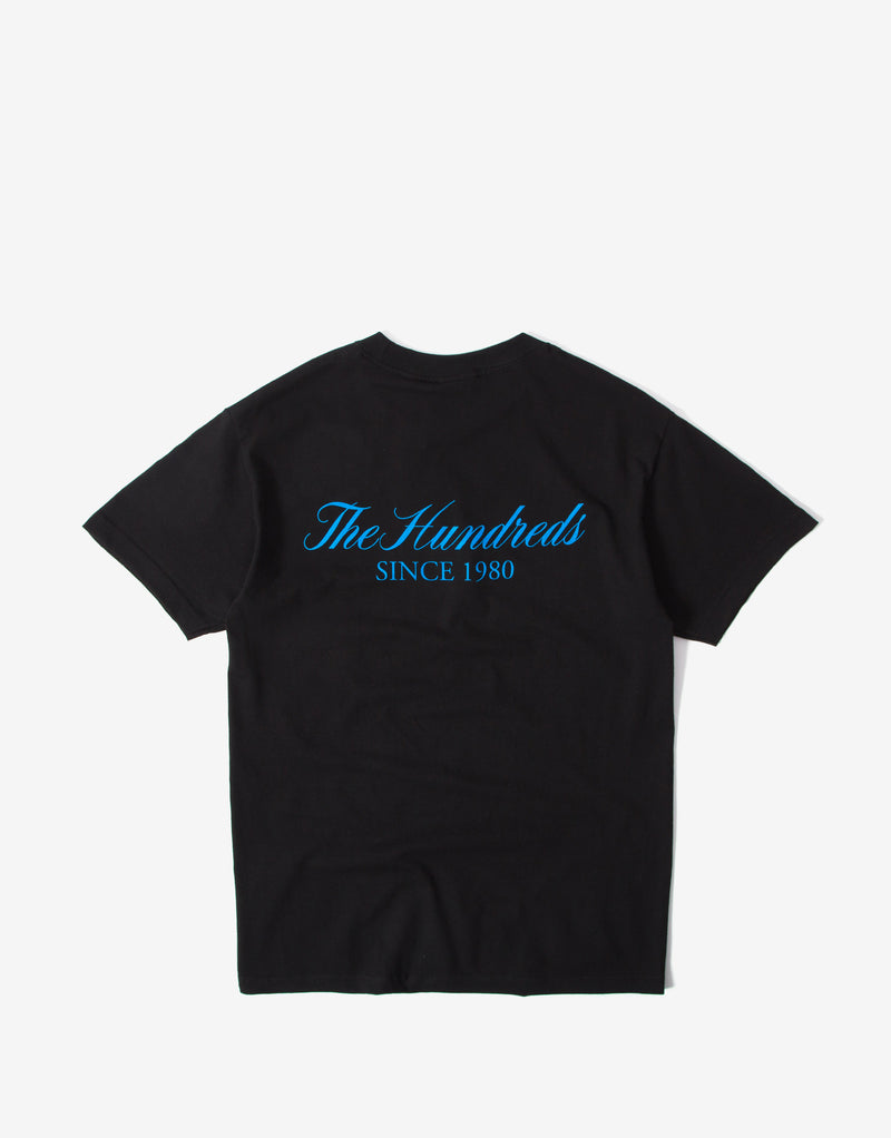The Hundreds Rich Crest T Shirt - Black