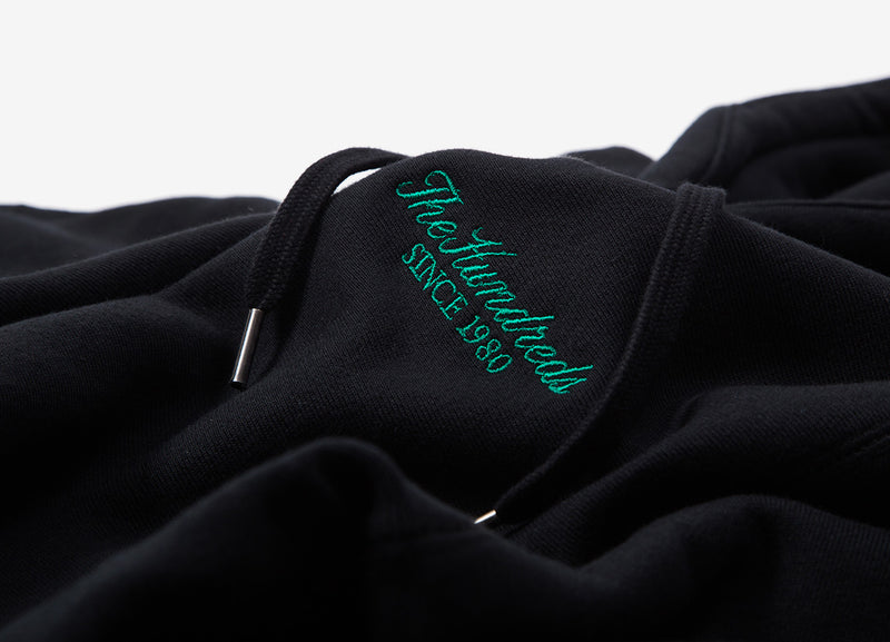 The Hundreds Rich Hoody - Black