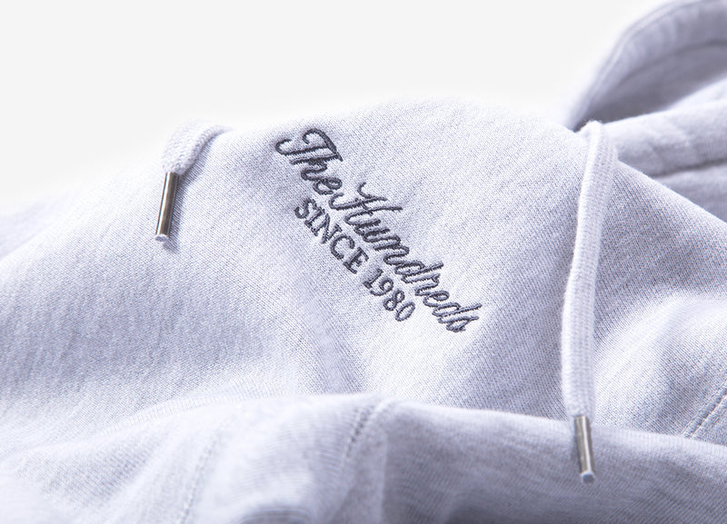 The Hundreds Rich Hoody - Athletic Heather