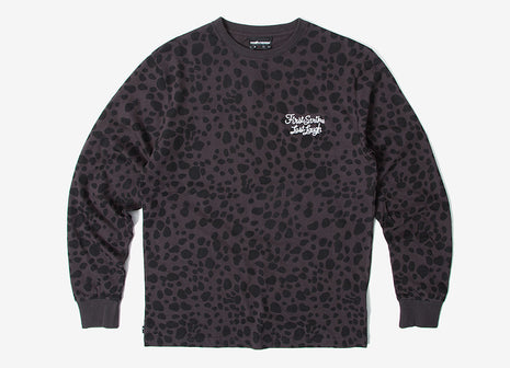 The Hundreds Sadistic LS T Shirt - Charcoal