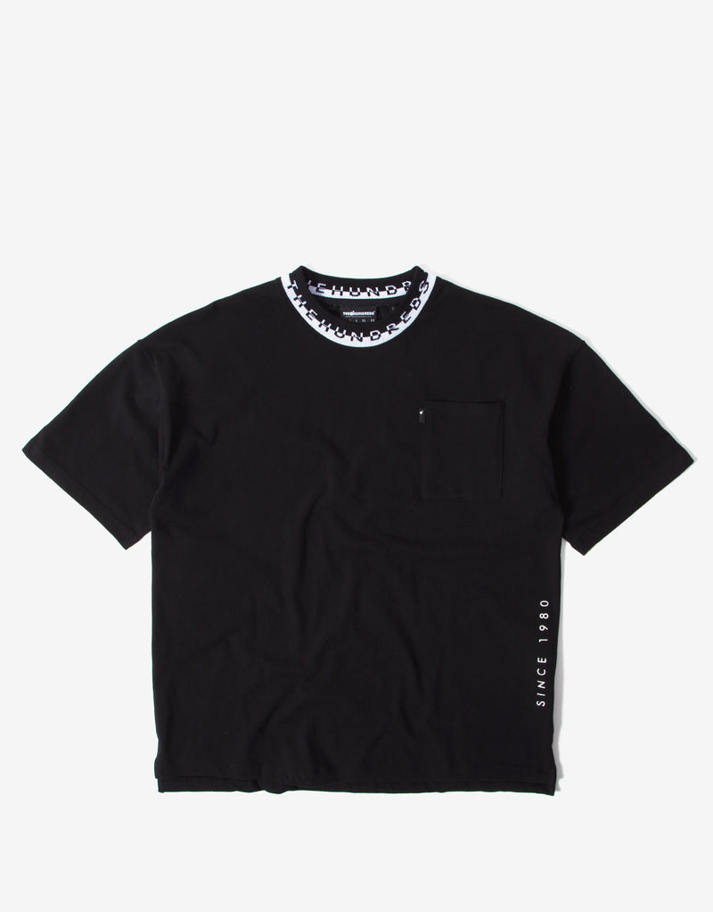 The Hundreds Summit T Shirt - Black