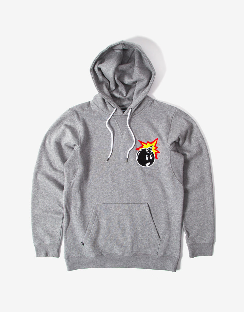 The Hundreds Switchback Pullover Hoody - Athletic Heather
