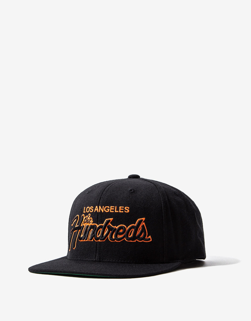 The Hundreds Team Two Snapback - Black