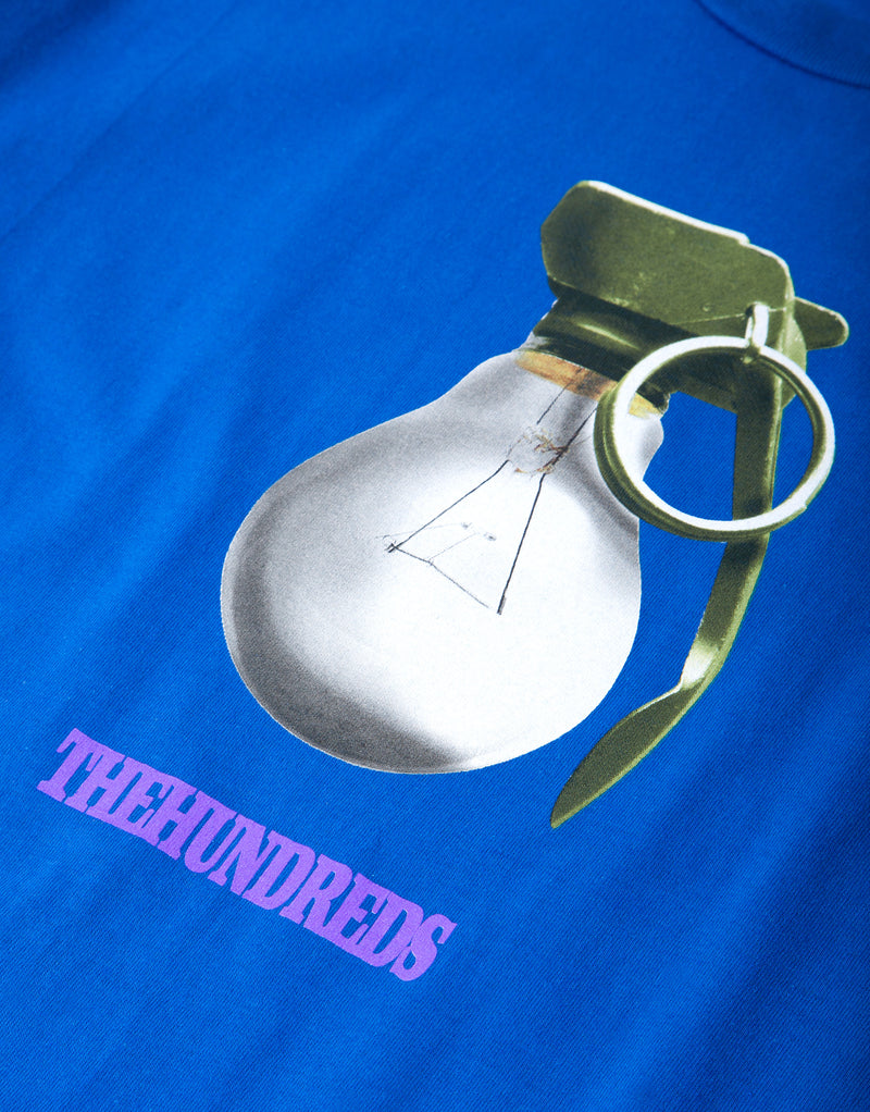 The Hundreds Weapons T Shirt - Royal Blue