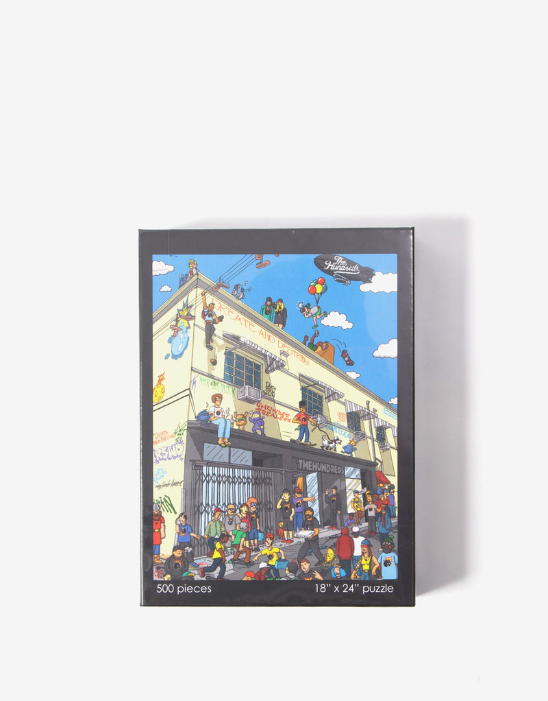 The Hundreds Where's Adam Puzzle - Black