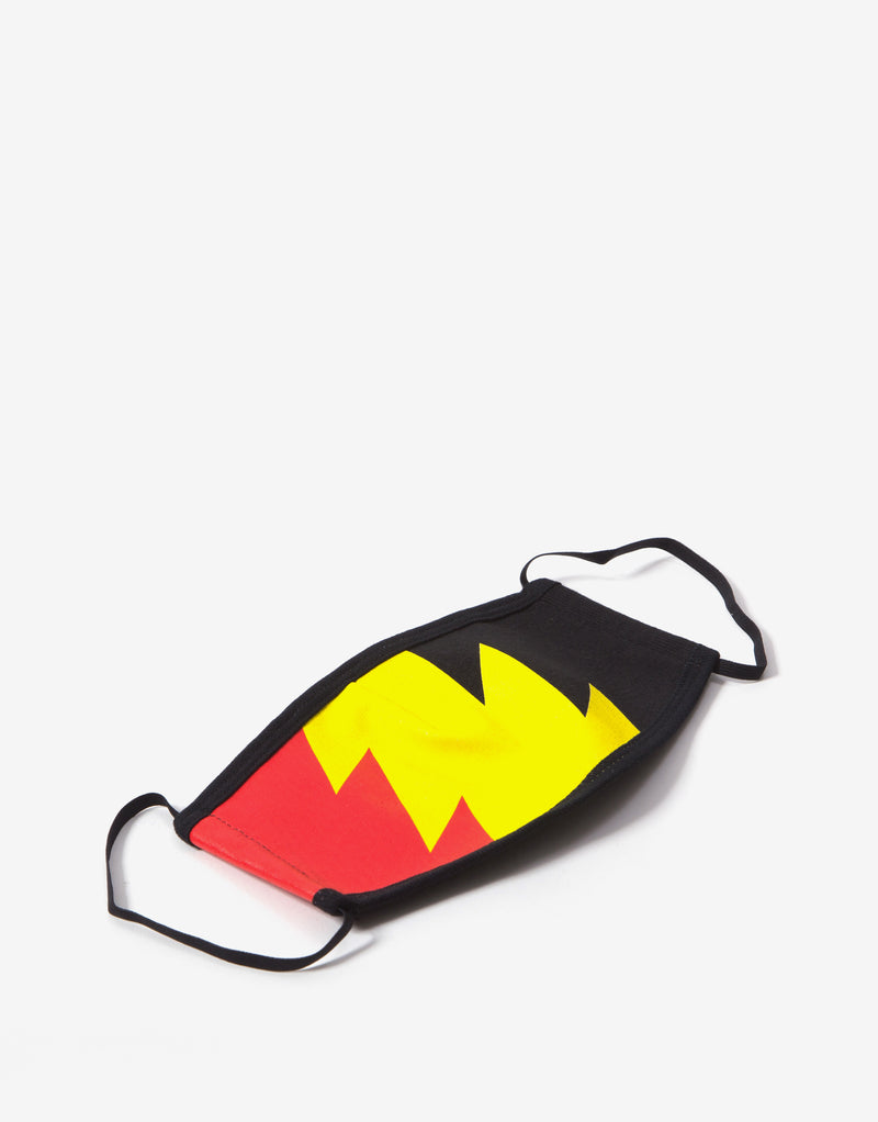 The Hundreds Wildfire Face Mask - Multi