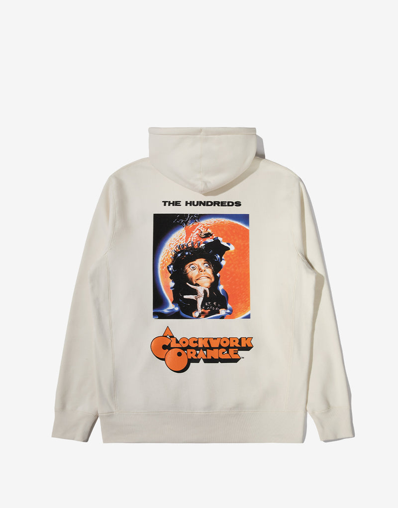The Hundreds x A Clockwork Orange Clock Hoody - White