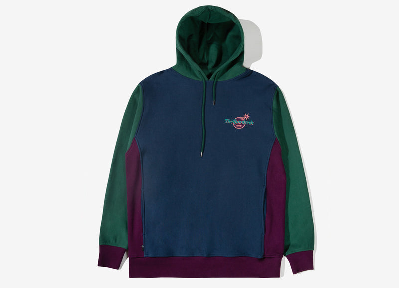The Hundreds x Hard Rock Cafe Crew Hoody - Forest