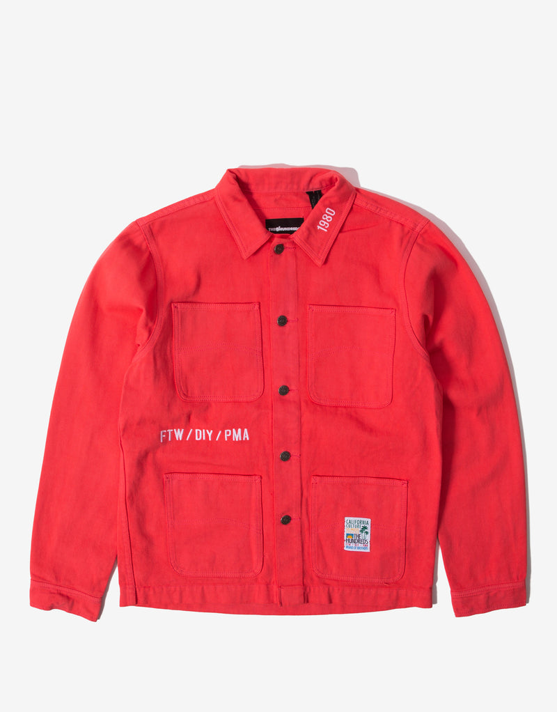 The Hundreds York Chore Coat - Pink
