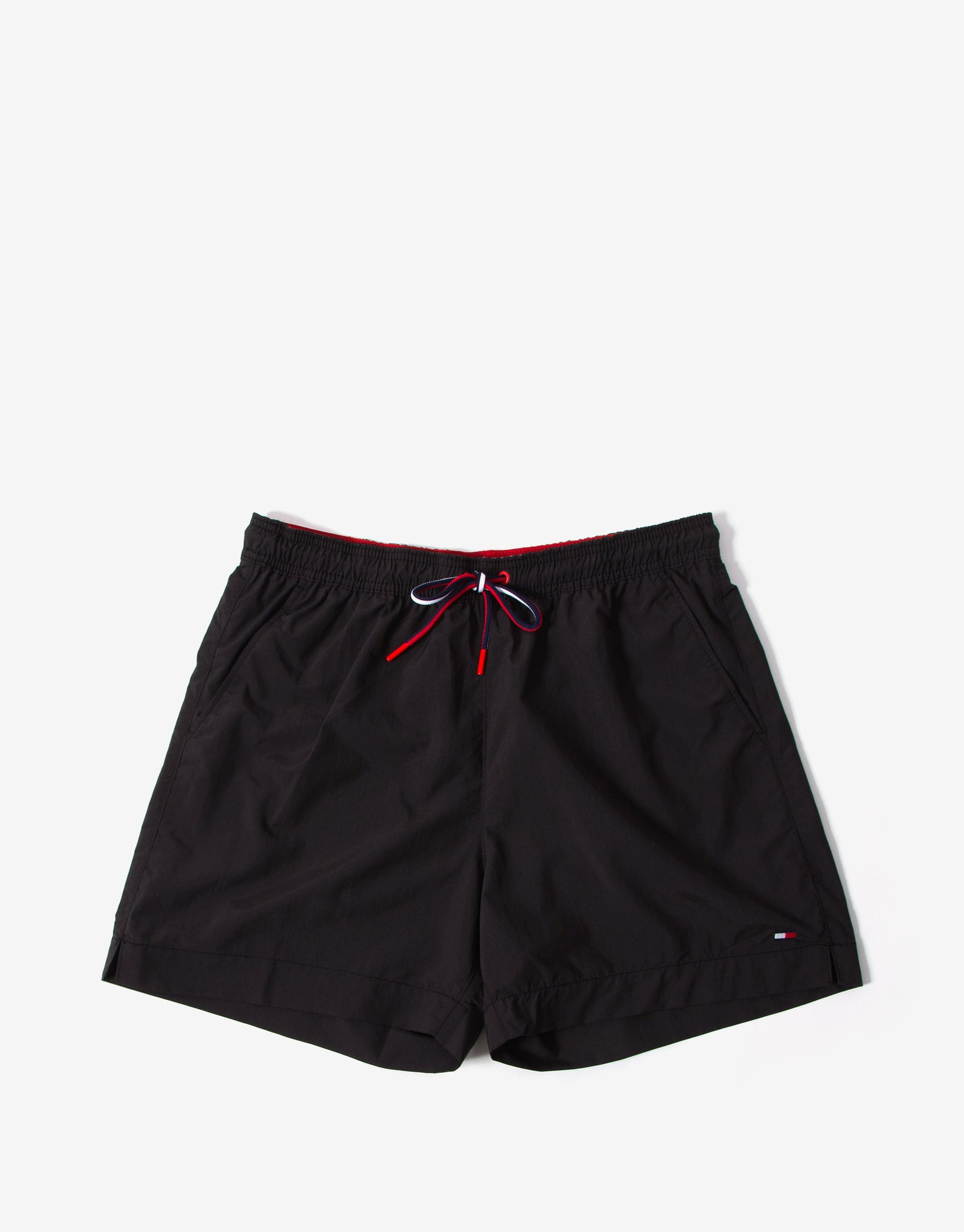 Tommy Hilfiger Swimwear Medium Drawstring Swim Shorts - Black
