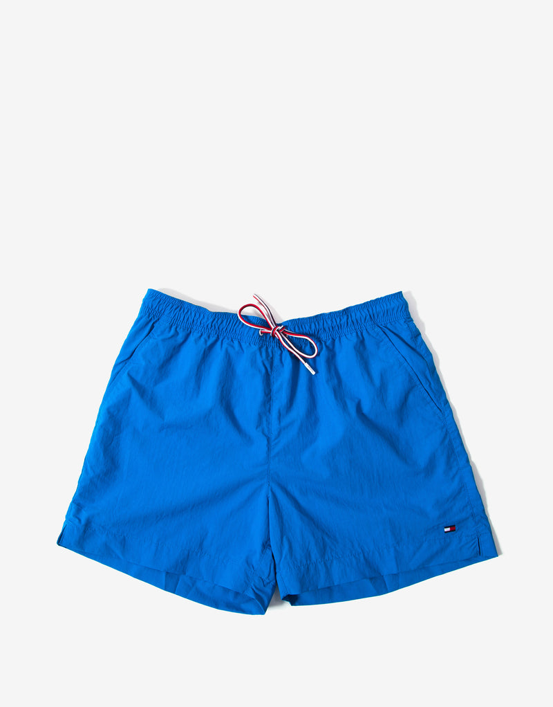 Tommy Hilfiger Swimwear Medium Drawstring Swim Shorts - Intense Blue