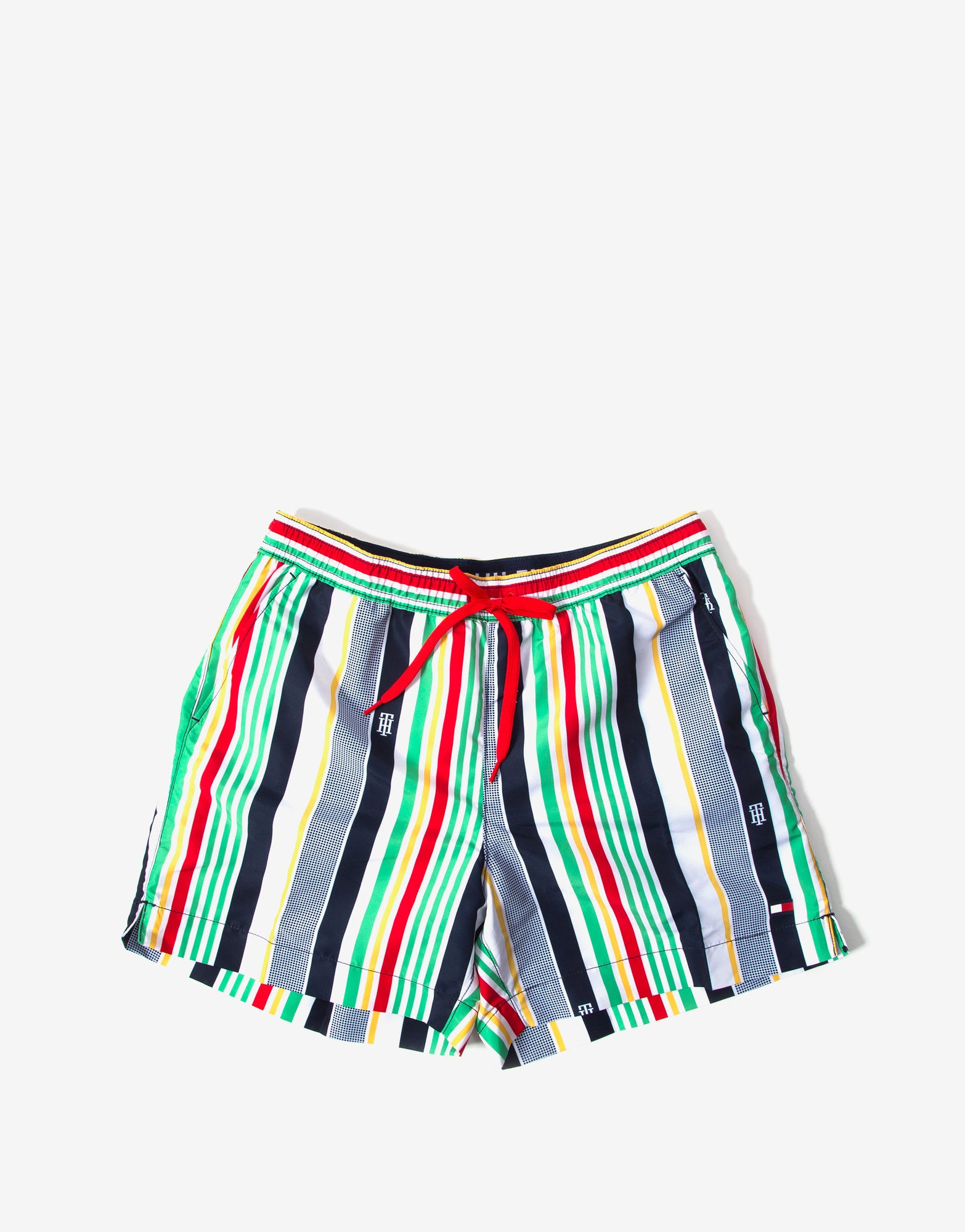 Tommy Hilfiger Swimwear Stripe Swim Shorts - Multistripe