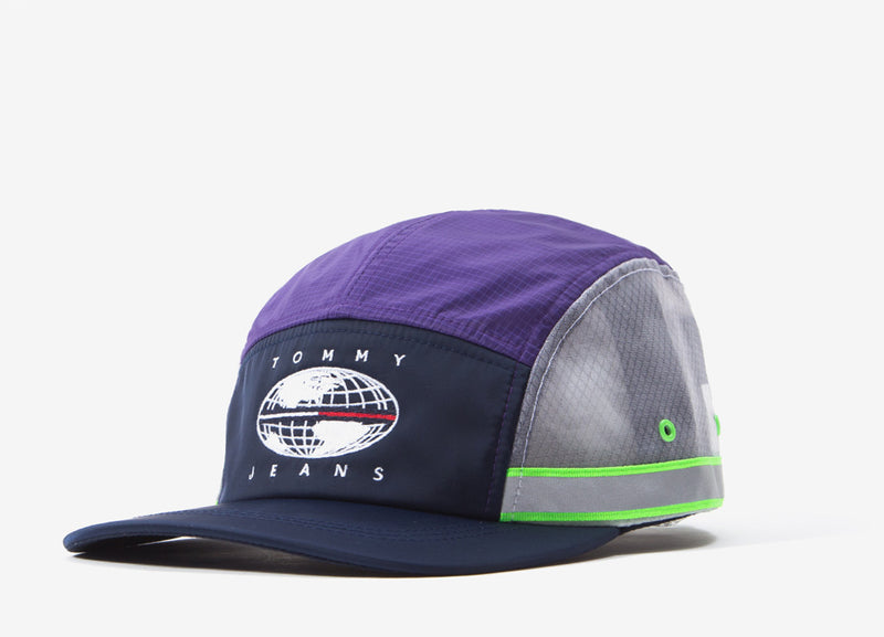 Tommy Jeans Expedition 5 Panel Cap - Royal Purple