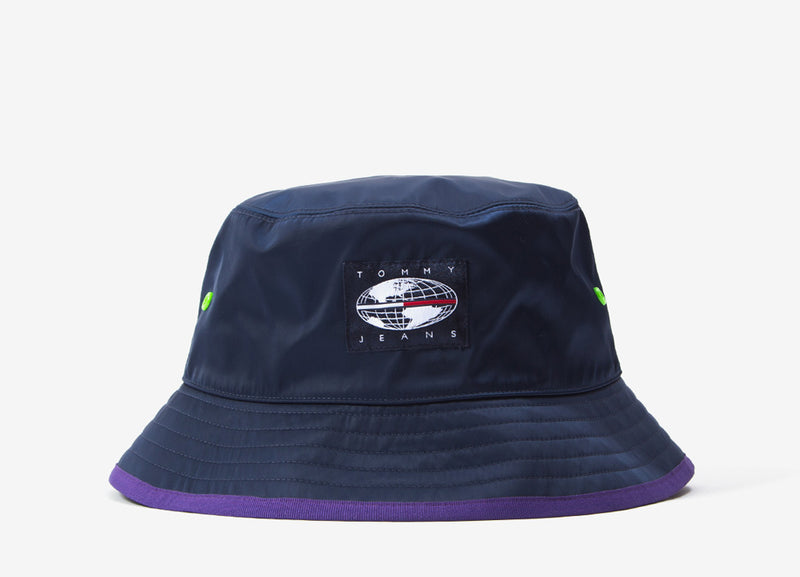 Tommy Jeans Expedition Bucket Hat - Royal Purple/Black Iris