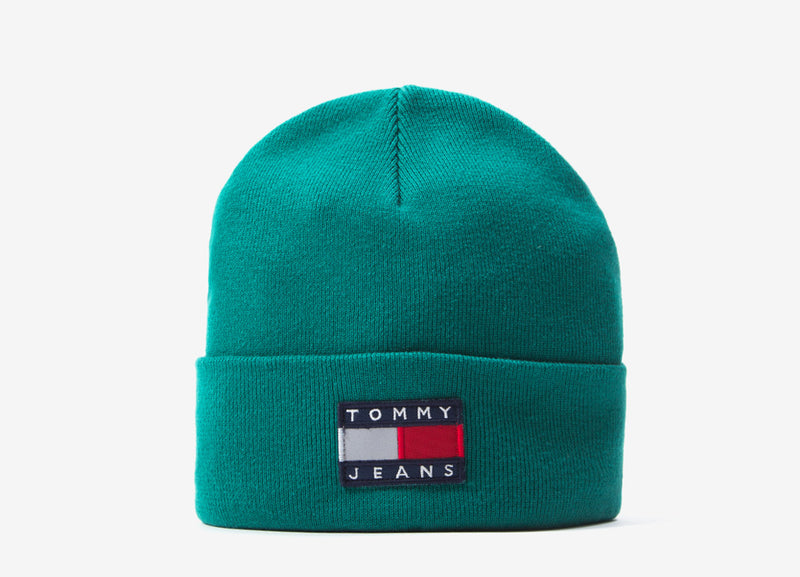 Tommy Jeans Sport Tech Beanie - Teal Blue