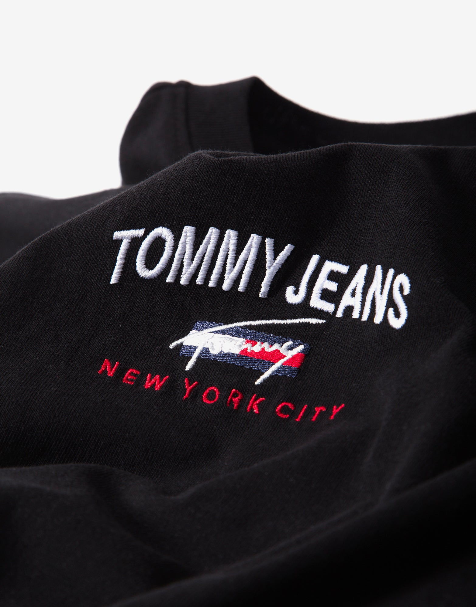 Tommy Jeans TJM Oversized Graphic T Shirt - Black/White