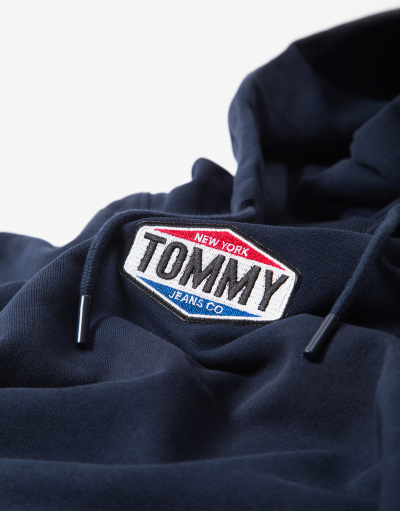 Tommy Jeans TJM Patch Logo Hoody - Twilight Navy
