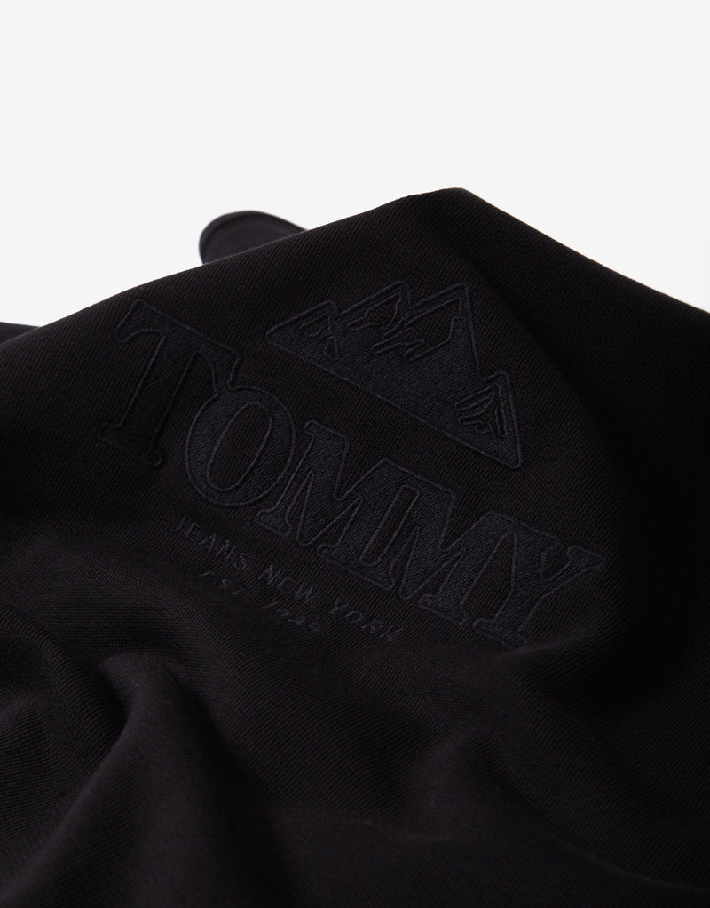 Tommy Jeans Tonal Graphic Crew - Black
