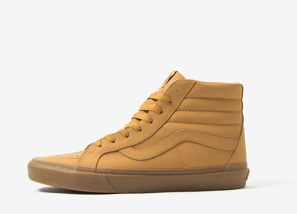 Vans Sk8-Hi Shoes - (Vans Buck) Light Gum/Mono