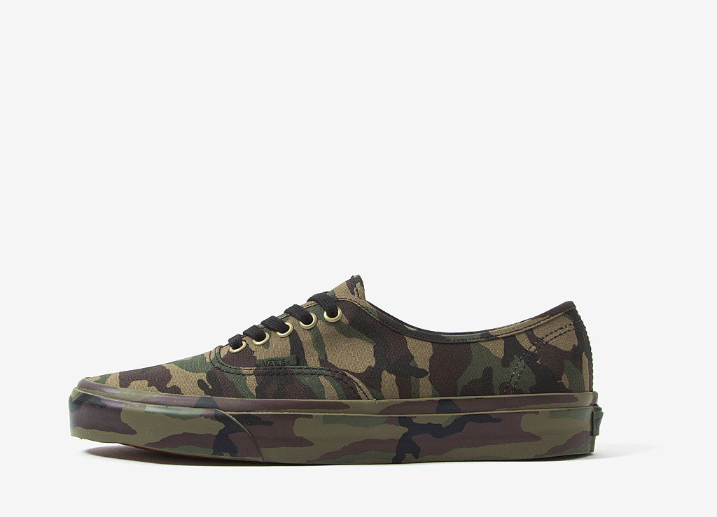 ce6886dce99ac2 Vans Authentic Mono Camo Shoes at The Chimp Store