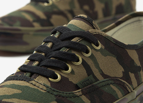 Vans Authentic Mono Camo Shoes - Camouflage