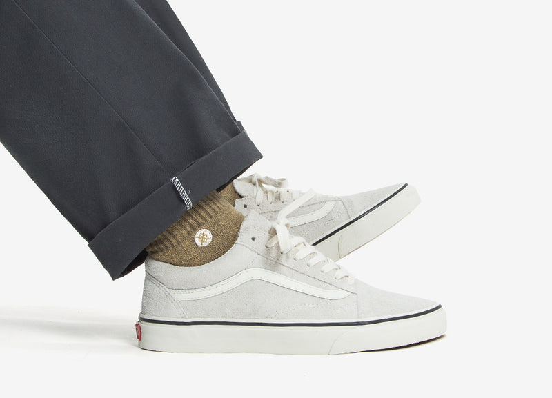 Vans Old Skool 'Fuzzy Suede' Shoes - Birch