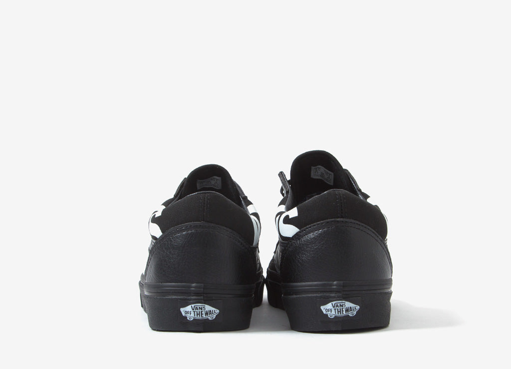 cheaper 899c2 c549e Vans Old Skool'Oversized Logo' Schuhe - Schwarz