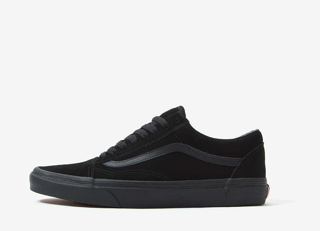 vans vans old skool shoes black black at the chimp store. Black Bedroom Furniture Sets. Home Design Ideas