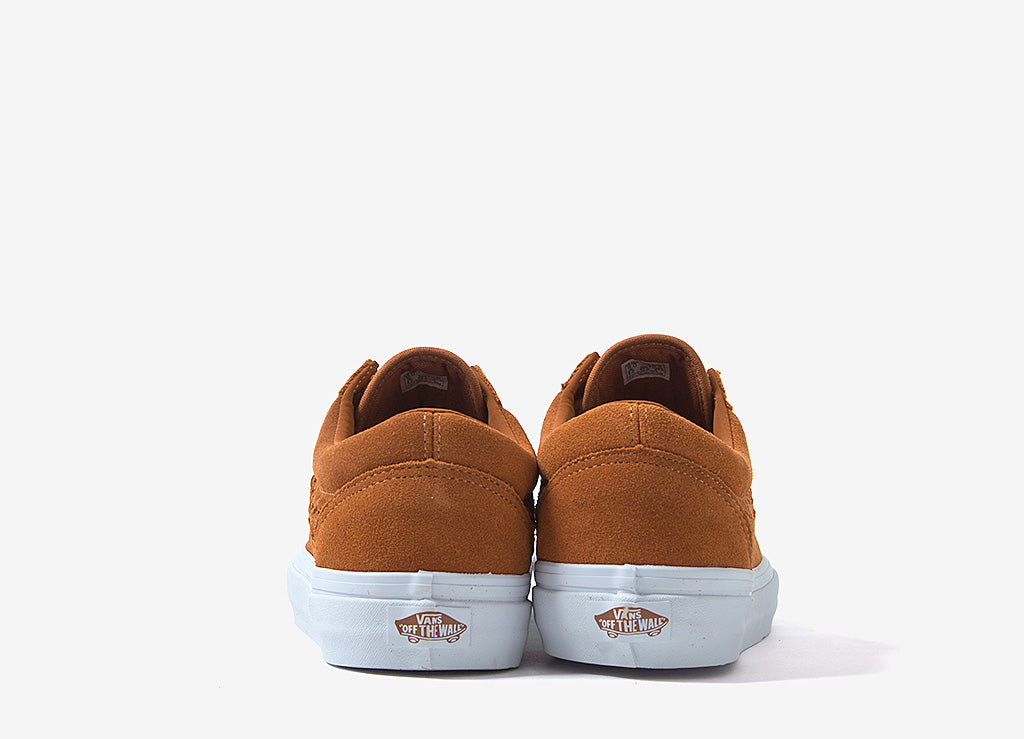 Vans Old Skool Weave DX Shoes - (Suede) Glazed Ginger