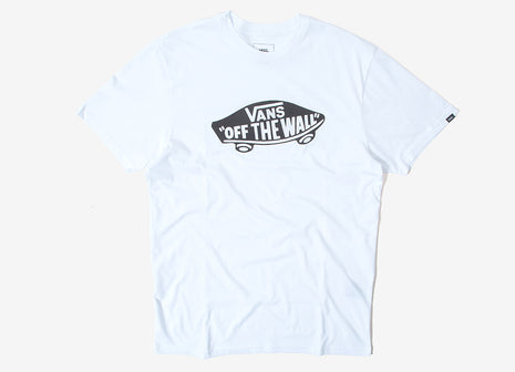 Vans OTW Logo T Shirt - White/Black