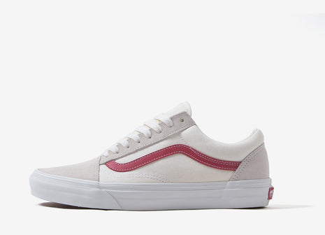 Vans Old Skool 'Vintage Suede' Shoes - Vintage White/Rococco