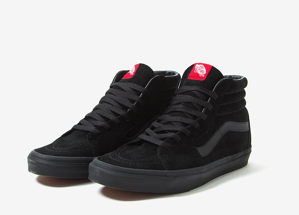 Vans Sk8-Hi Shoes - Black/Black