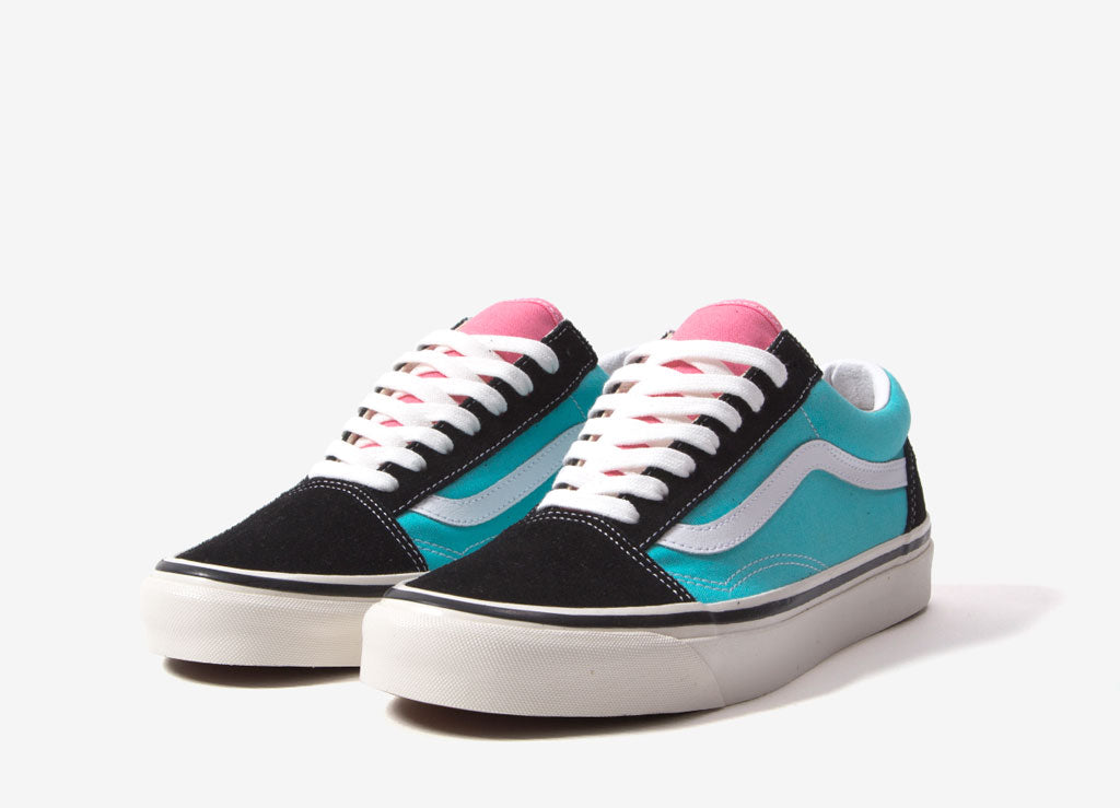 Vans Old Skool 36 DX 'Anaheim Factory' Shoes OG BlackOG Aqua