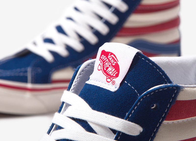 Vans Sk8-Hi 38 DX (Anaheim Factory) - OG Blue/OG Red