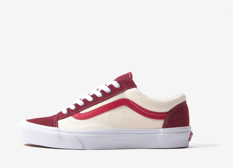 Vans Style 36 'Retro Sport' Shoes - Biking Red/Poinsettia