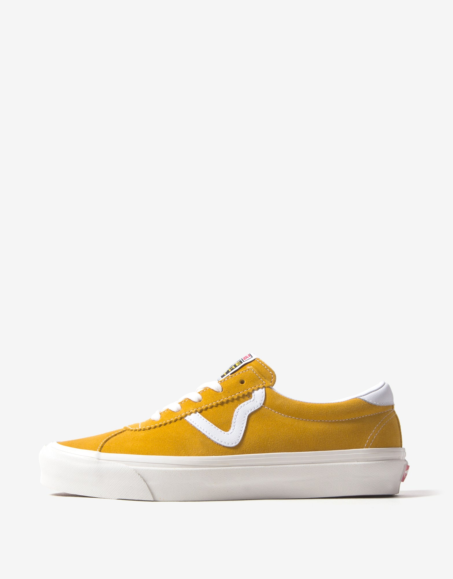 Vans Style 73 DX 'Anaheim Factory' Shoes - OG Saffron