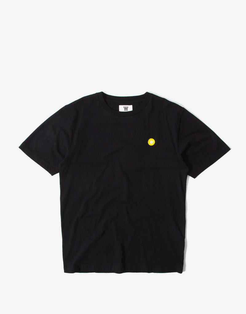 Wood Wood Ace T Shirt - Black
