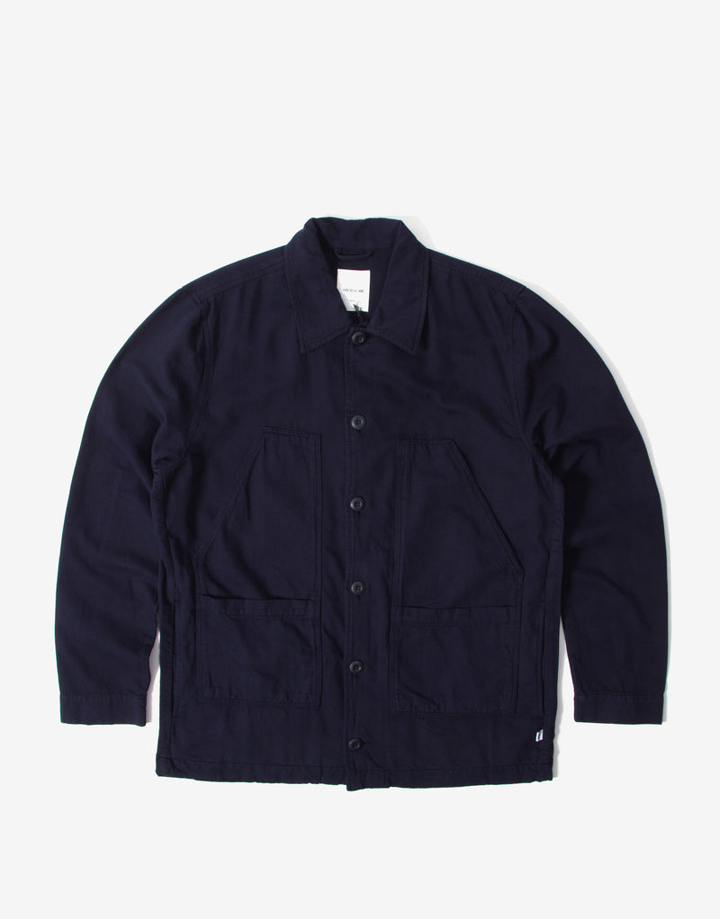 Wood Wood Fabian Shirt - Navy