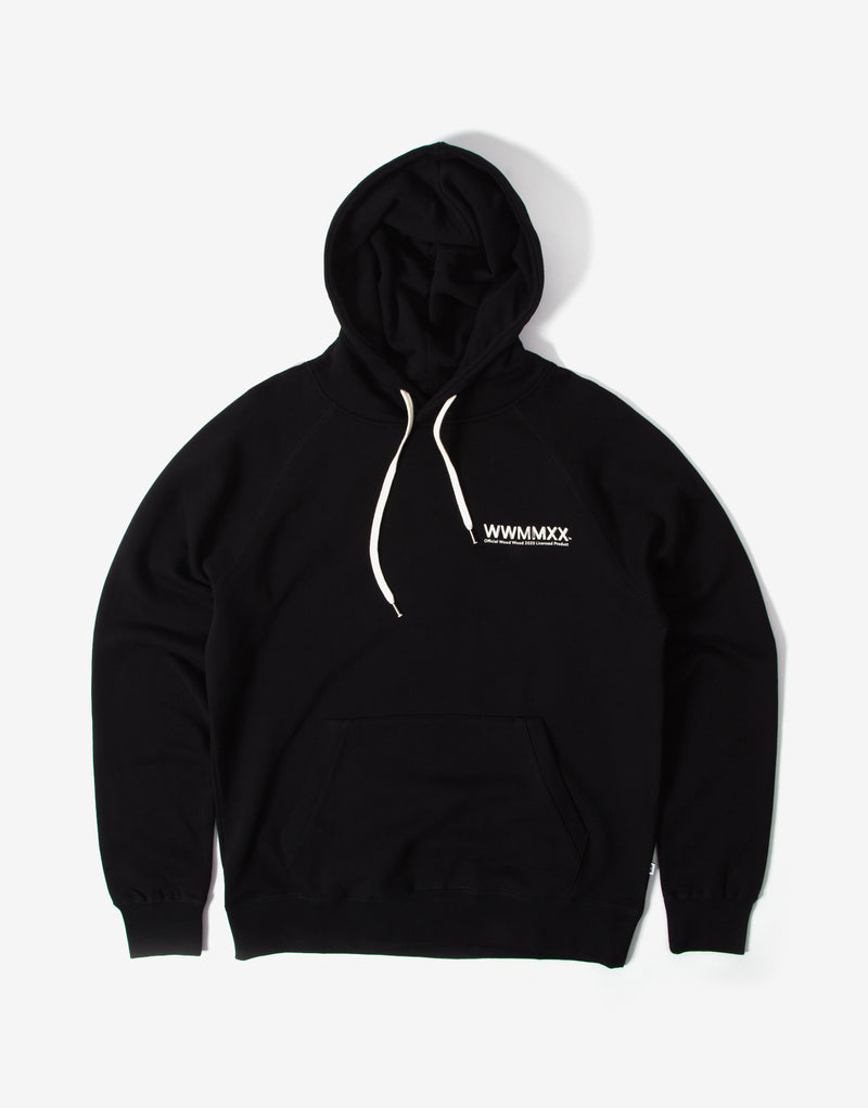Wood Wood Fred Hoody - Black