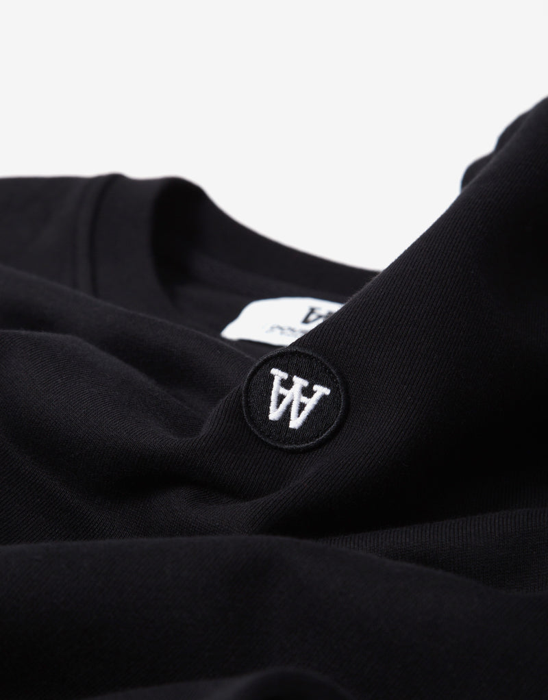 Wood Wood Tye Sweatshirt - Black